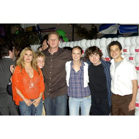 The Cast Of The War At Home At Arrivals For Fox All-Star Party For Tca Press Tour The Santa Monica Pier Los Angeles Ca July 29 2005 Photo By Michael GermanaEverett Collection Celebrity Cast Pier Mount Adapter