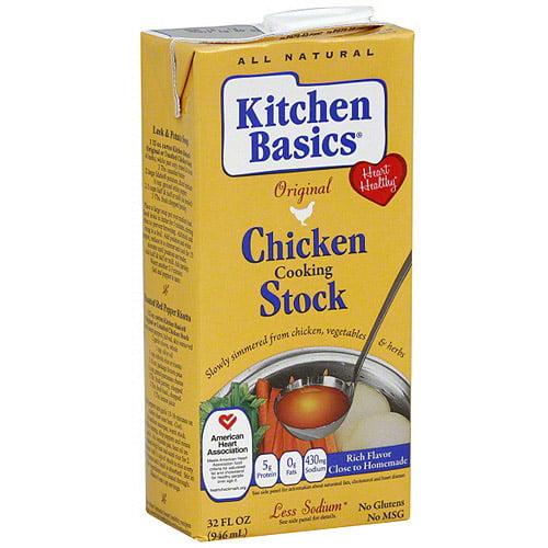 Kitchen Basics Original Chicken Cooking Stock, 32 oz (Pack of 12)