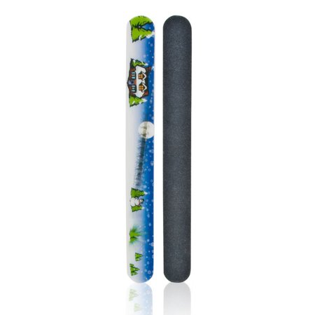 J & D Beauty Holigraphic Holiday Nail File 1 File (Best Holiday Beauty Products)