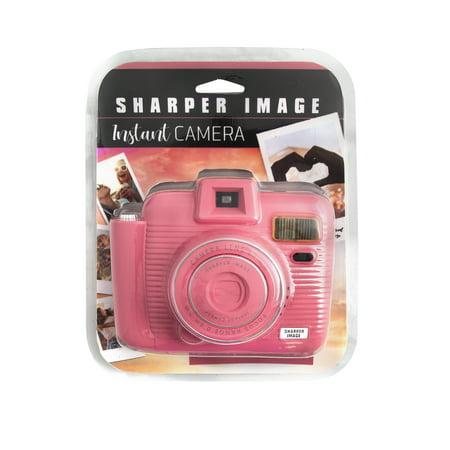 Sharper Image Instant Camera Pink