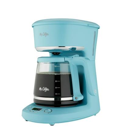 Mr. Coffee 12-Cup Programmable Coffeemaker, Arctic