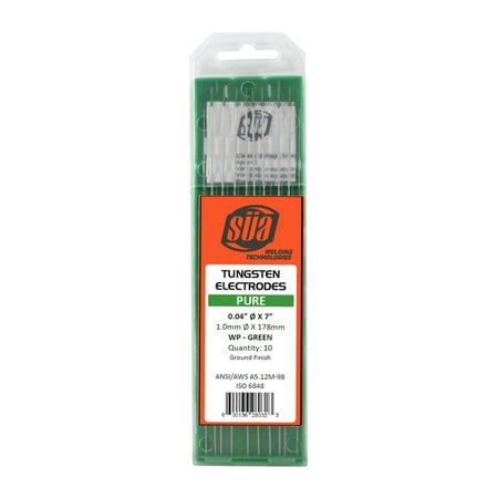 SÜA - Pure Tungsten Electrode - TIG - 0.04