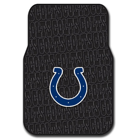 Indianapolis Colts Set of Rubber Floor Mats