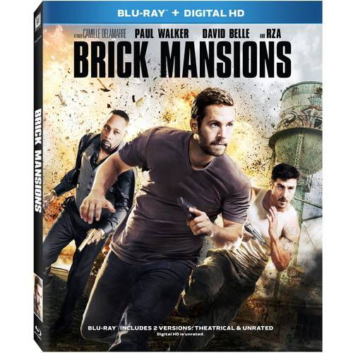 Brick Mansions (Blu-ray + Digital HD) (With INSTAWATCH) (With INSTAWATCH) (Widescreen)