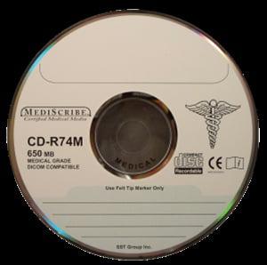 TDK Electronics CD-R 80 min, MEDICAL Grade, 700MB, Silver...