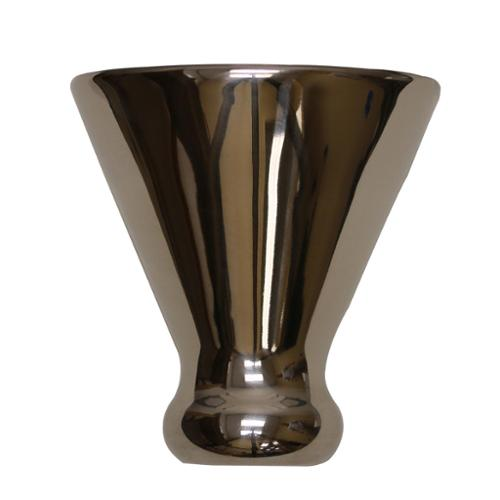 Cork Pops 00888 Ice Free Stainless Steel Martini Glass