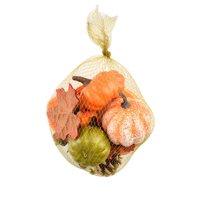 Creative Simulation Pumpkin Acorn Maple Leaves Pine Cone Halloween Artificial Decoration Shooting Wedding Props