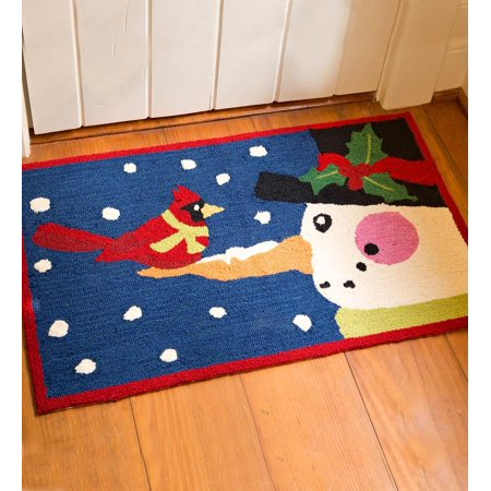 machine washable hand hooked flurry friends accent rug. Black Bedroom Furniture Sets. Home Design Ideas