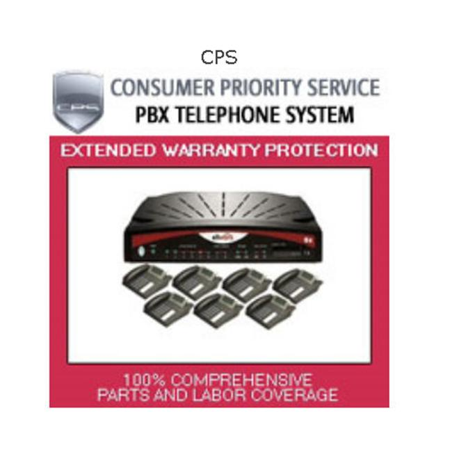 Consumer Priority Service PBX 8-3-3000 3 Year PBX Telephone System   8 under $3 000. 00