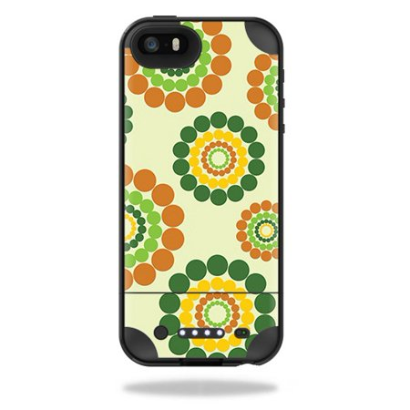 Easy Hippie Outfits (Skin For Mophie Juice Pack Plus iPhone 5/5S/SE Case – Hippie Flowers | MightySkins Protective, Durable, and Unique Vinyl Decal wrap cover | Easy To Apply, Remove, and Change Styles)