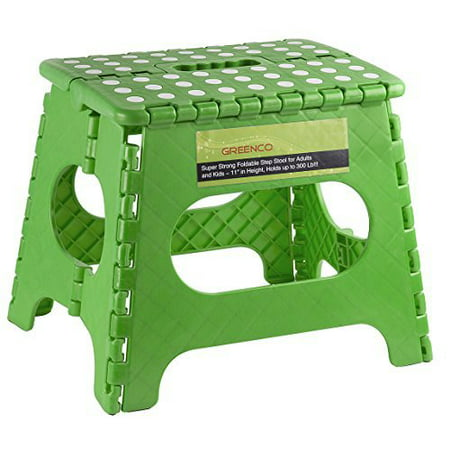 Greenco Super Strong Foldable Step Stool For Adults And