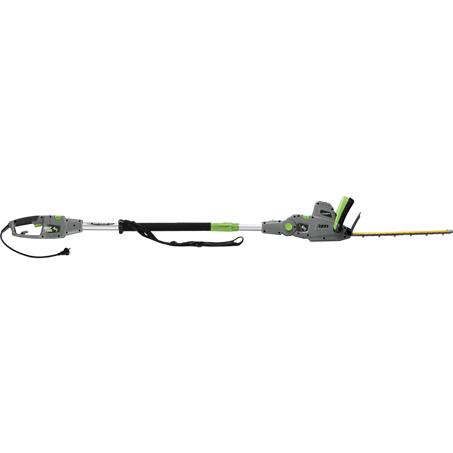 Earthwise CVPH43018 2-In-1 Convertible Pole Hedge Trimmer Hand Held Hedge Trimmer by Great States Corporation