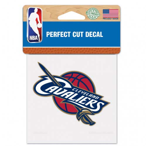 Cleveland Cavaliers 4X4 Color Die Cut Decal