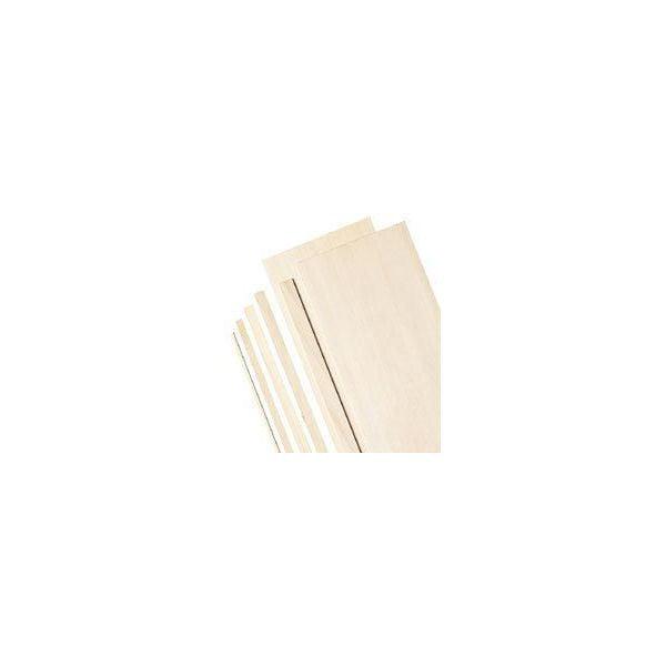 "(Price/PK)Alvin BS1146 4"" Wide Balsa Wood Sheets 1/4"""