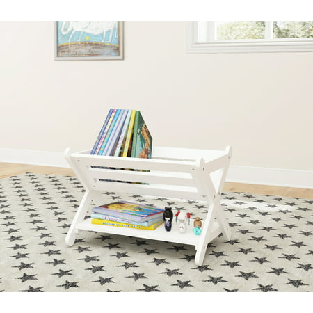 UTEX Kids' Book Caddy with Shelf, Kids Bookcase Storage with Shelf, Kids Book Storage Organizer for Toddlers, Kids ()