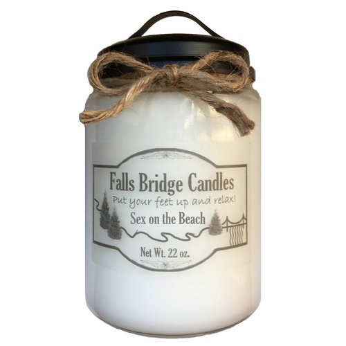 Falls Bridge Candles Sex on the Beach Scented Jar Candle