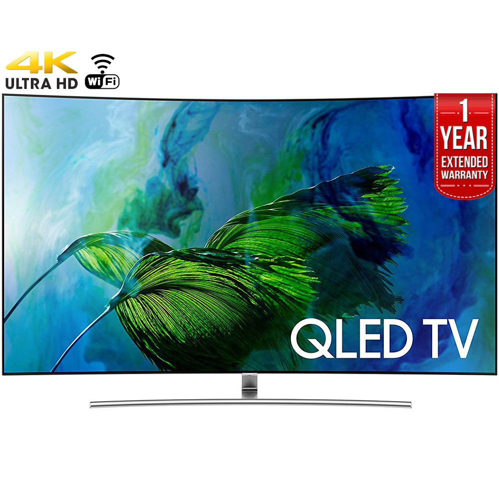 "Samsung 65Q8C 65"" Curved 4K Smart LED TV"
