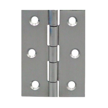 - 34911 Pair Extruded Butt Hinge  1.62 x 2.5 in.