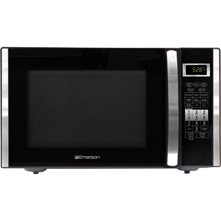 Emerson 1 5 Cu Ft 1000 Watt Microwave With Convection Grill Stainless Steel Factory