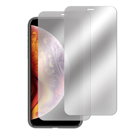 - Insten 2-Pack iPhone XS Max Anti-Scratch Bubble Free Mirror Tempered Glass Screen Protector LCD Full protective Film Guard Shield for Apple iPhone XS Max