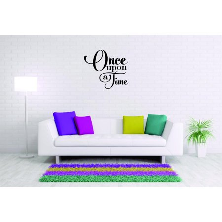 Custom Wall Decal Sticker Once Upon A
