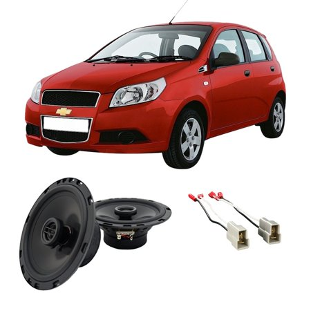 Avery Replacement - Fits Chevy Aveo 2004-2006 Rear Deck Replacement Harmony HA-R65 Speakers New