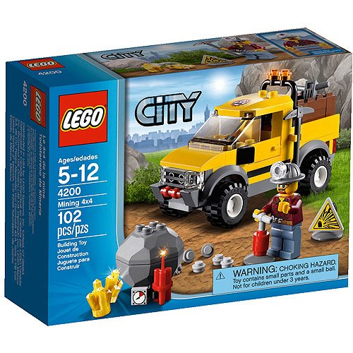 LEGO City Mining 4x4 4200 Play Set