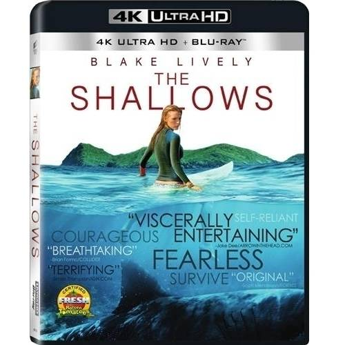 The Shallows (4K Ultra HD + Blu-ray + Digital HD)