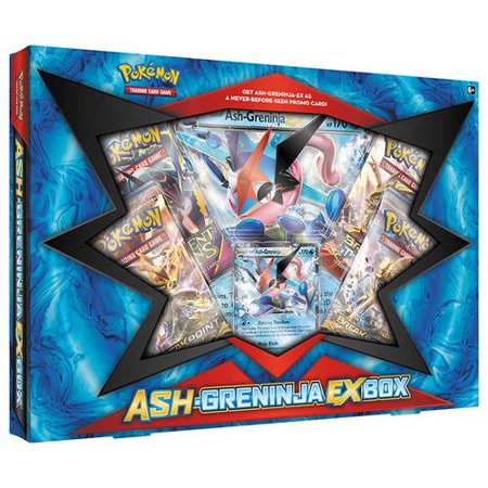 2016 Pokemon Ash & Greninja EX Box Trading Cards (Ash Cosplay Pokemon)