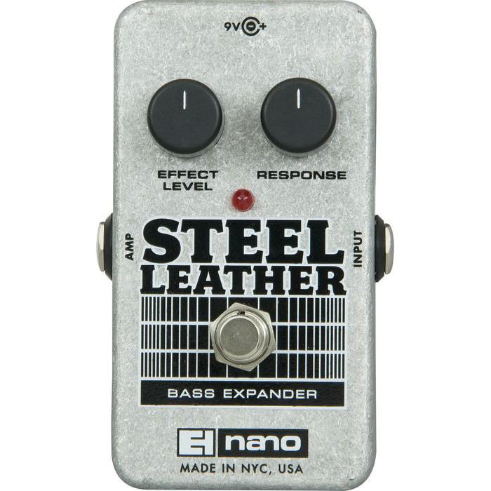 Electro-Harmonix Nano Steel Leather Bass Expander by Electro-Harmonix