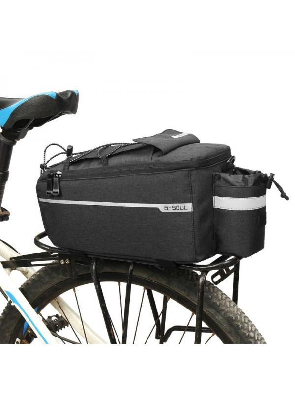 Bike Cooler Bag Bicycle Insulated Trunk Pannier Cycling Rear Rack Luggage Pack