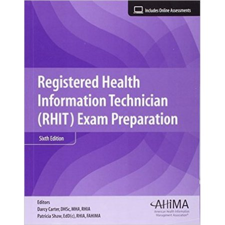 Registered Health Information Technique  Rhit  Exam Preparation  Text With Access Code