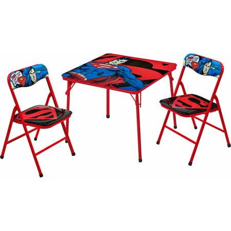 Marvel superman activity table and chairs set - Ensemble table et chaise enfant ...