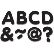 "Teacher Created Resources, TCR77188, Black 2"" Magnetic Letters, 87 / Pack, Black"