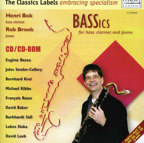 Henri Bok - Bassics: For Bass Clarinet and Piano [CD]