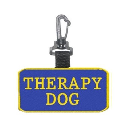 """Therapy Dog"" Identification Pa tch Tag"