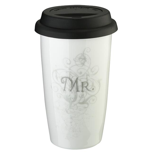 Lillian Rose CU660 MR Mr.  Ceramic 120z.  Tumbler