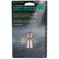 SS1C 2.0-GPM Solid Brass Chrome-Plated Standard Showerhead - Quantity 1