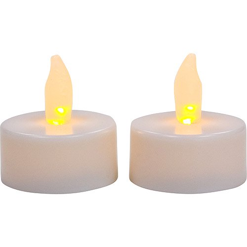candle impressions inglow flameless tea lights white 10 pack. Black Bedroom Furniture Sets. Home Design Ideas