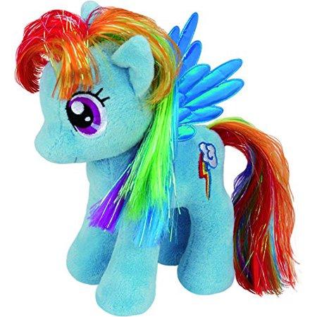 UK 12-inch My Little Pony Rainbow Dash Buddy..., By Ty Ship from US](Rainbow Dash Plush)