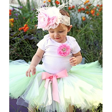 9892292d9 Noah s Boytique - Noah s Boytique Baby Girls First Birthday Mint ...