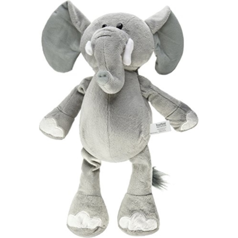 Burton Burton Grey Elephant Jungle Plush Animal 16 H Walmart Com