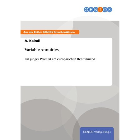 Variable Annuities - eBook