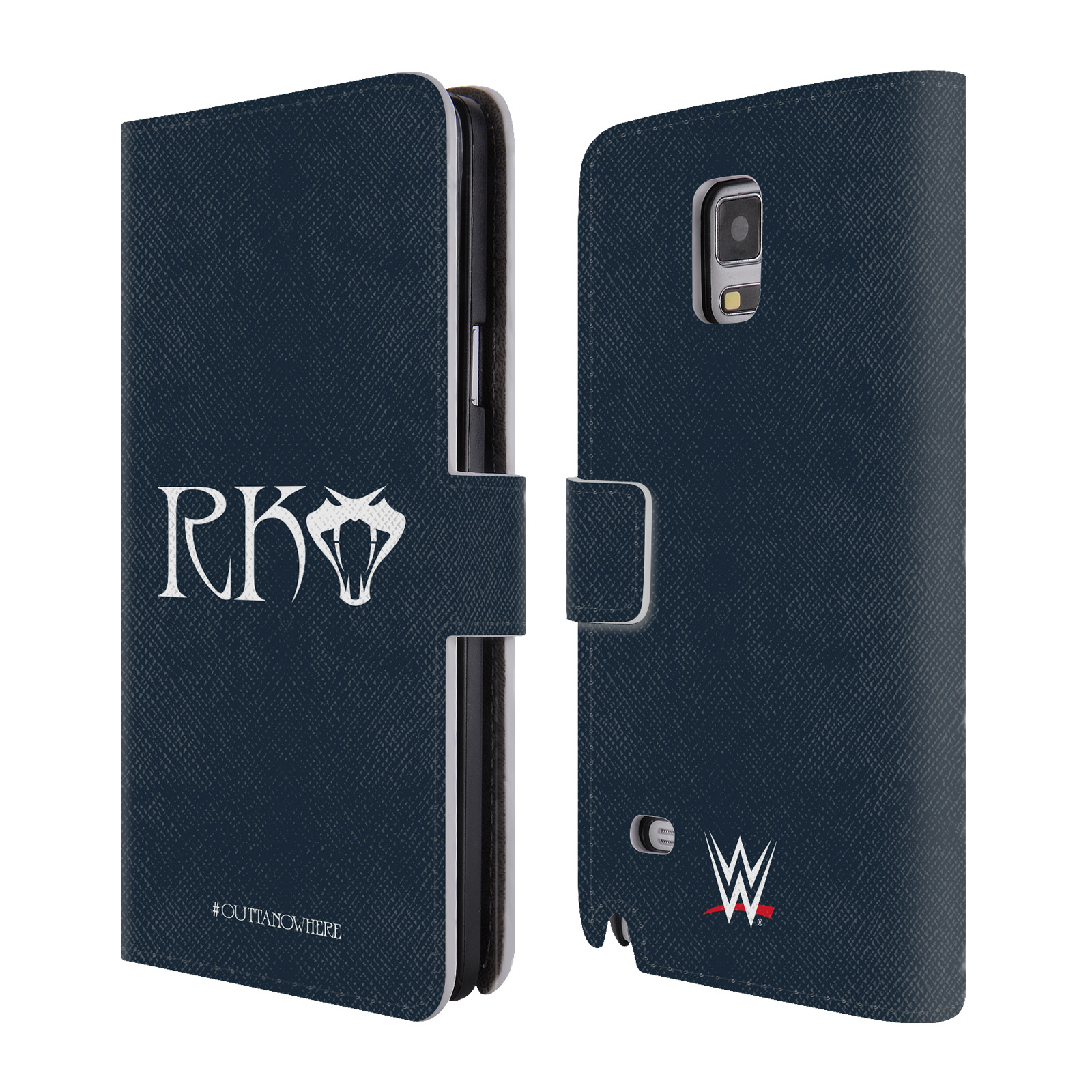 OFFICIAL WWE RANDY ORTON LEATHER BOOK WALLET CASE COVER FOR SAMSUNG PHONES 1