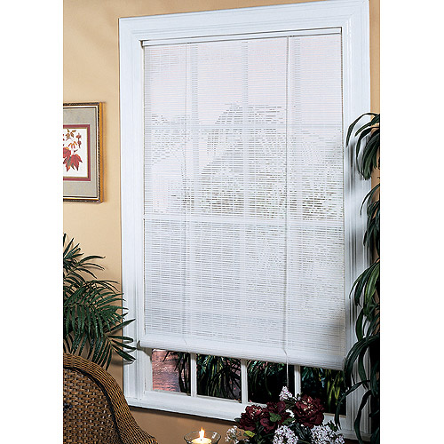 PVC Window Blind Shade, White