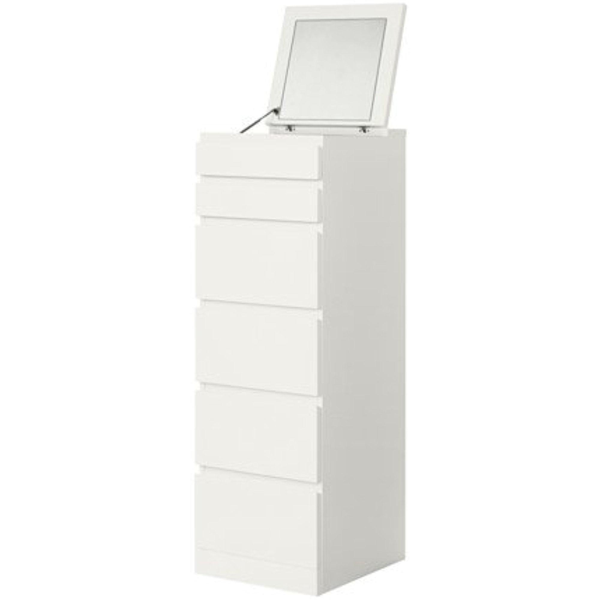 Ikea 6 Drawer Chest White Mirror Glass 15 3 4x48 3 8 22214 20214 166 Walmart Com Walmart Com