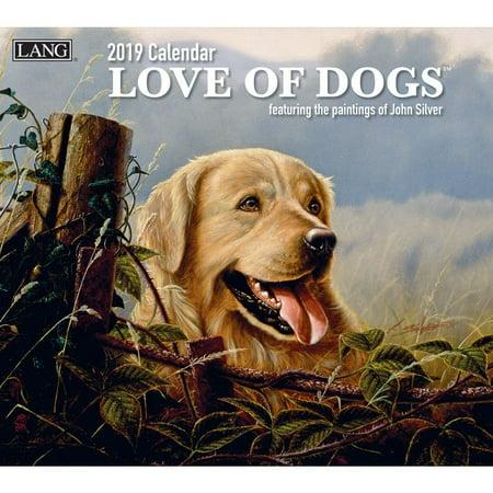 - 2019 WALL CALENDAR, LOVE OF DOGS