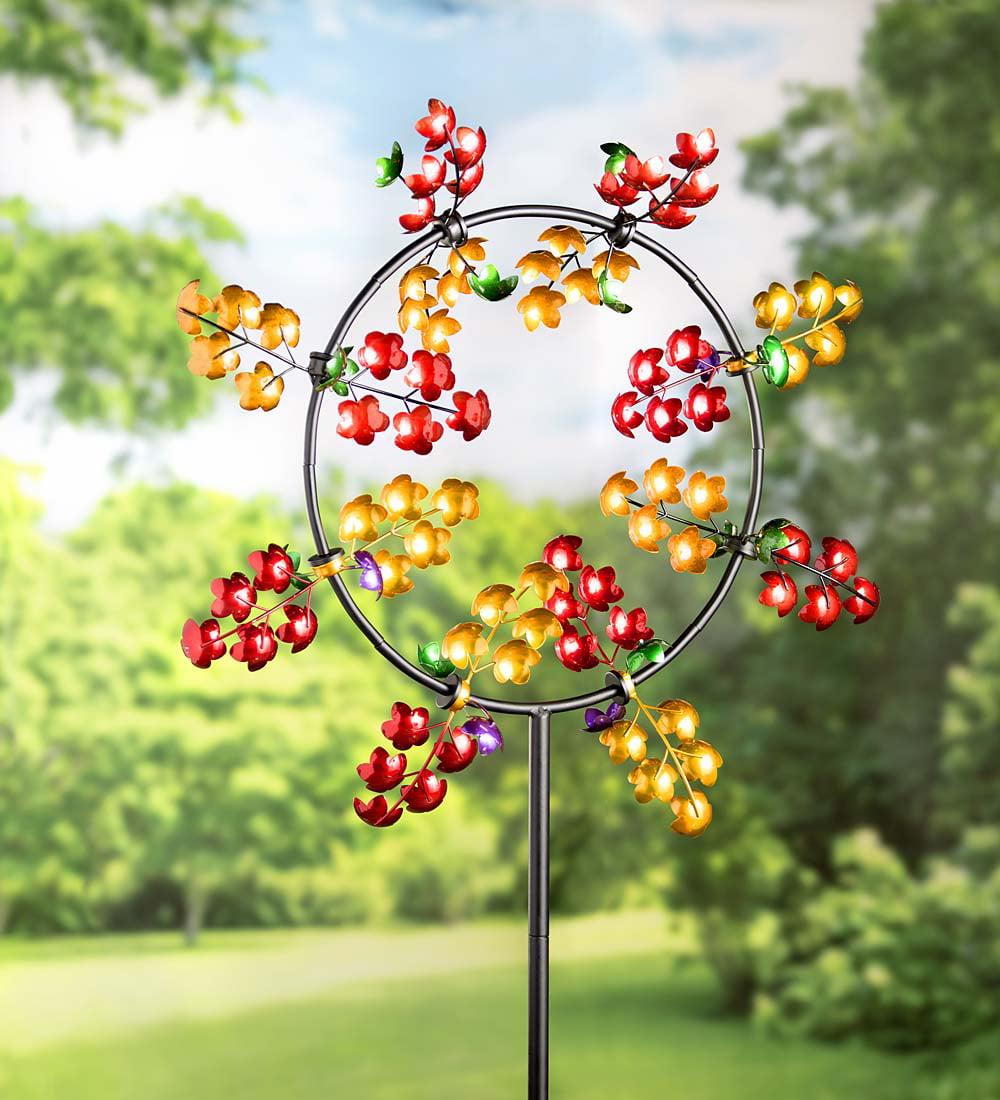 Wind & Weather Flower Jubilee Wind Spinner for Gardens by Wind Spinners