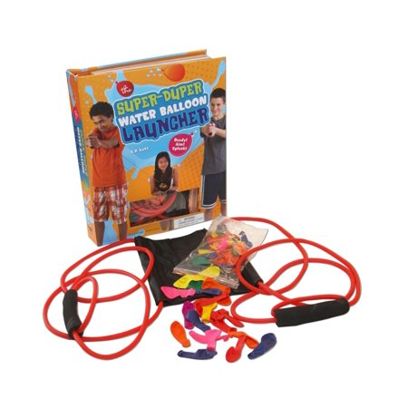 The Super Duper Water Balloon Launcher Kit : Ready! Aim! Splash!