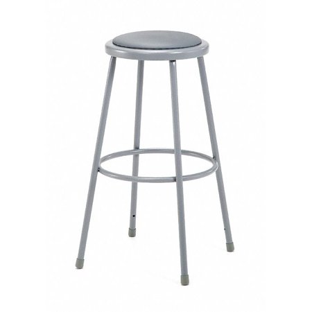 Surprising National Public Seating Round Stool And 300 Lb Weight Capacity Gray Gray 6430 Ibusinesslaw Wood Chair Design Ideas Ibusinesslaworg
